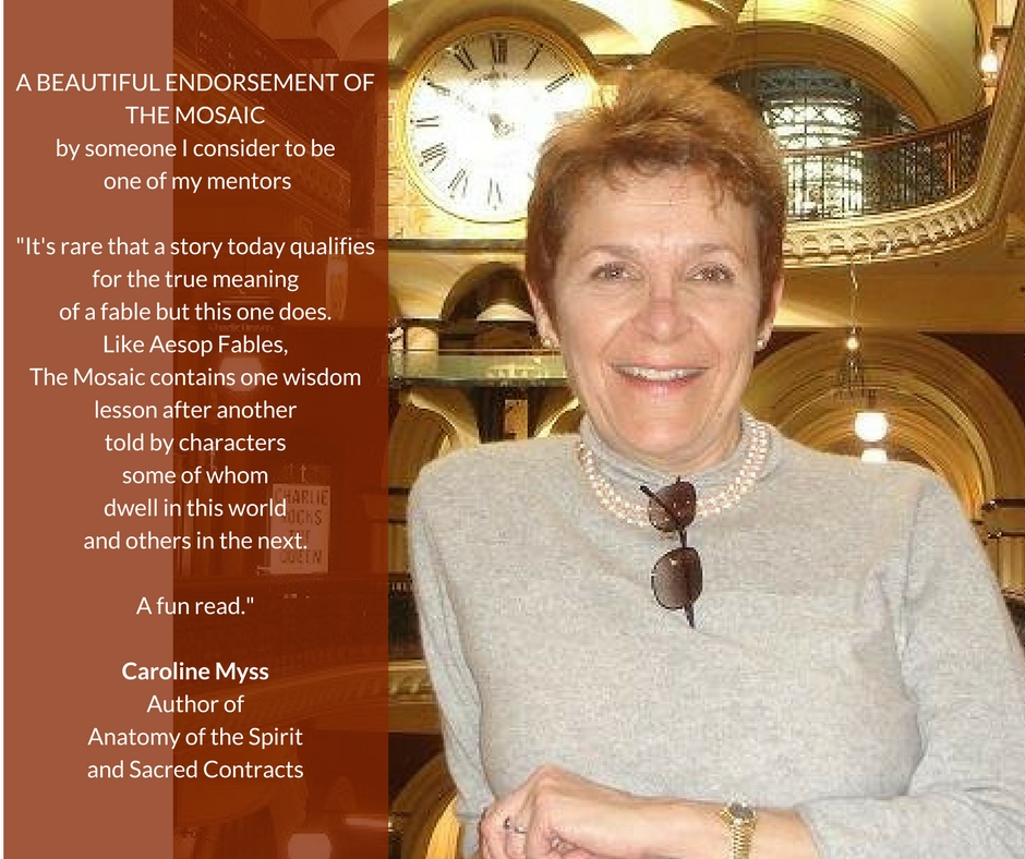 caroline myss mosaic endorsement