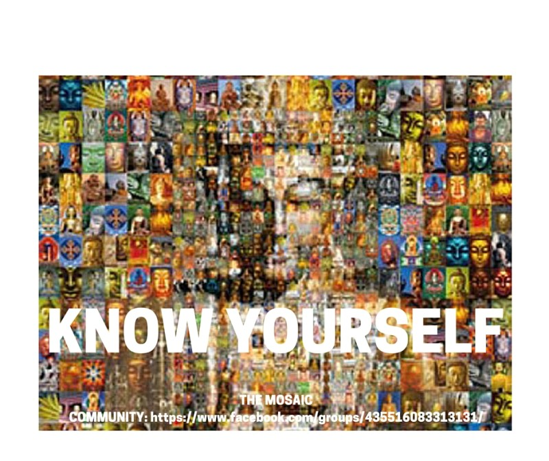 KNOW YOURSELF MOSAIC