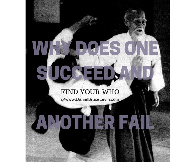 WHY DOES ONE SUCCEED AND ANOTHER FAIL