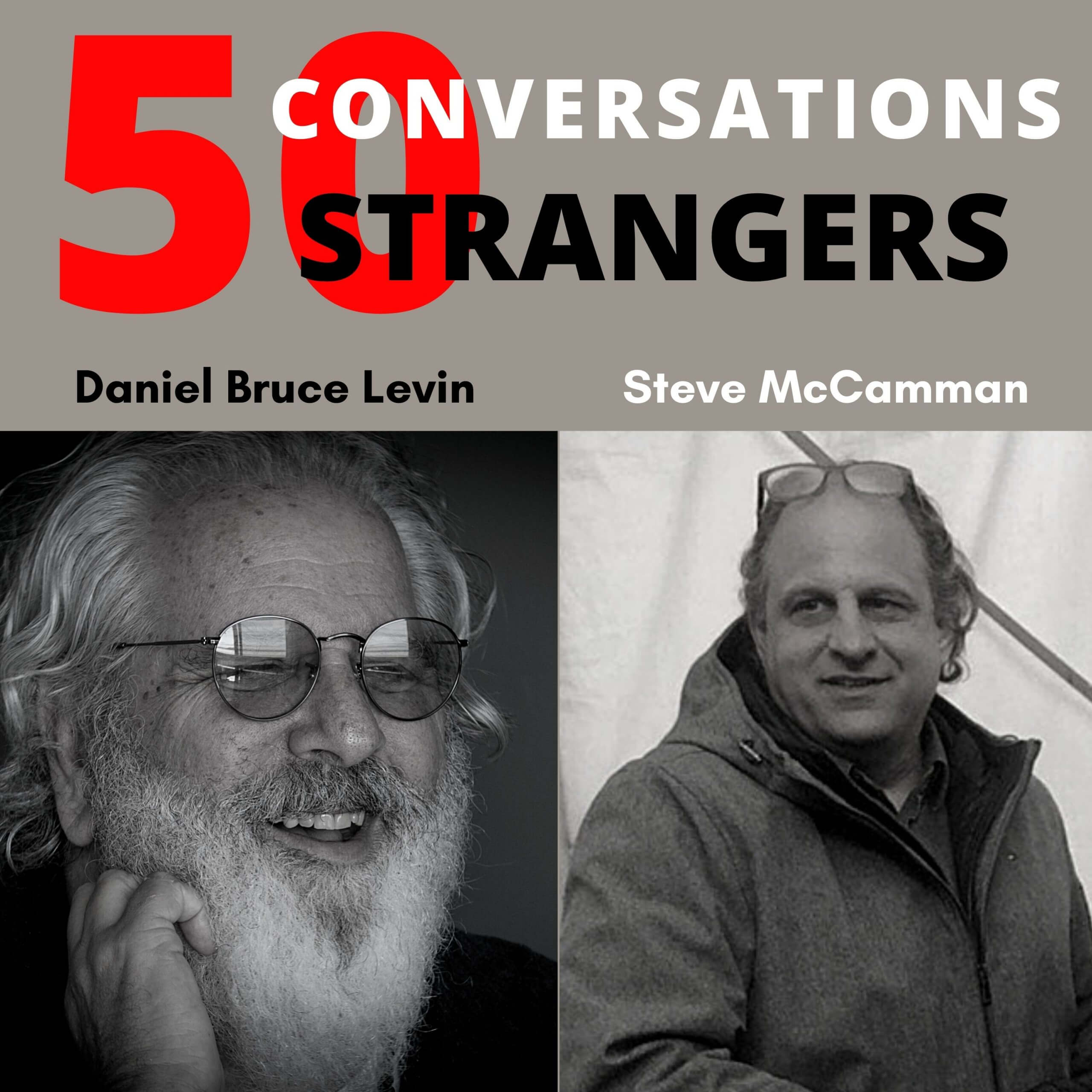 50 Conversations with 50 Strangers with Stephen McCamman